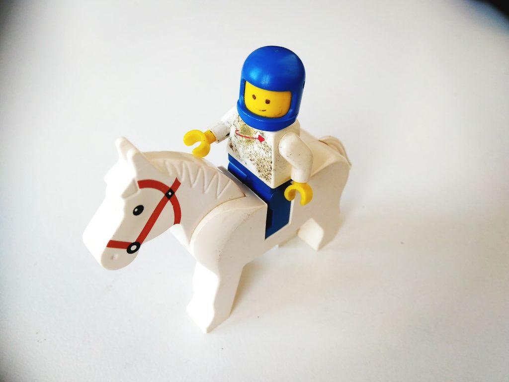 Astronauta cavaleiro