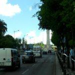 Vista para o Marquês de Pombal a partir da Avenida da Liberdade