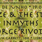 Blaze & The Stars, Inmyths e Jorge Rivotti na Livraria Sá da Costa